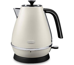 DeLonghi Distinta Kettle - Cream
