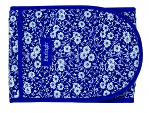 Burleigh Blue Calico Double Oven Glove, Sale!