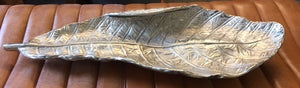 Silver Leaf Decorative Item