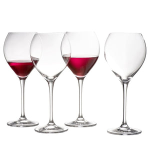 Belleek Clarity Red Wine Glasses set of 4