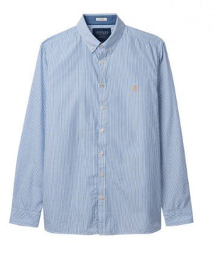 JOULES MENS COLERIDGE CLASSIC FIT SHIRT - BLUE STRIPE
