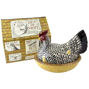 Emma Bridgewater Silver Hen on Nest - Boxed