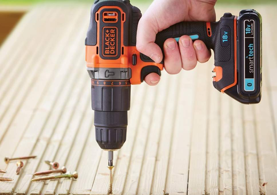 Black and Decker 18V Cordless Drill