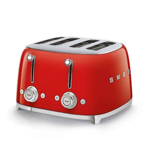 Smeg Red Toaster 4 Slice