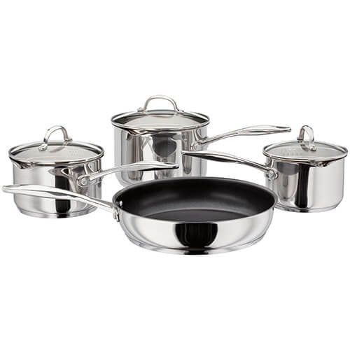 Stellar 7000 Draining 4 Piece Saucepan Set