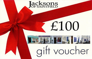 £100 Jacksons of Saintfield Gift Voucher