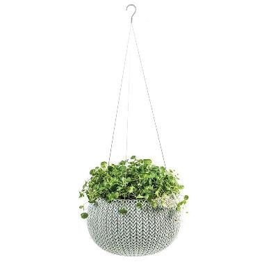 Stewart Knit Hanging Basket