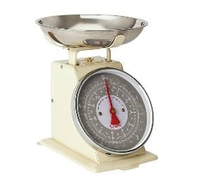 Terraillon Kitchen Scale Cream