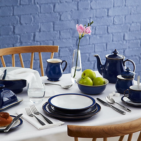 Denby Imperial Blue Medium Plate
