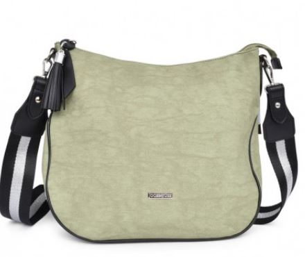 JOCEE&GEE LADIES MARA SHOULDER/CROSSBODY BAG - LIGHT GREEN