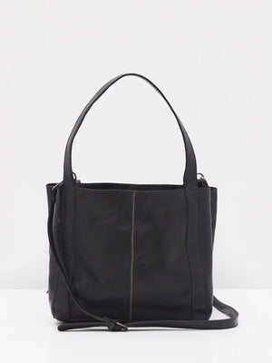 White Stuff Hannah Eco Leather Tote Bag- Dark Navy