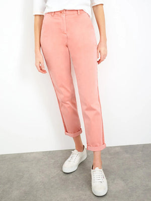 White Stuff Women's Hingley Chino Trouser - Mid Pink