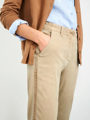 White Stuff Womens's Hingley Chino Trouser - DK NAT