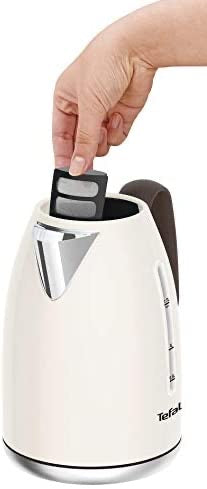 RETRA KI780A40 JUG KETTLE - CREAM & MOKKA, CREAM