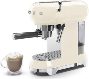 SMEG ECF01 Cream Coffee Machine