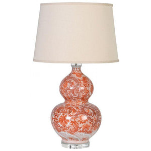 patterned lamp Oriental design bulbous JNC201
