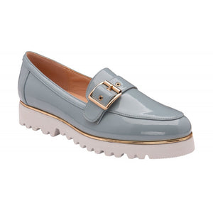 Lotus Women's Chiara Loafers - Blue Patent