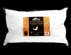 goose feather & down pillow