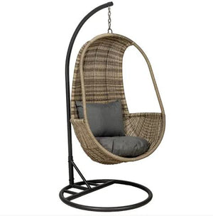 WENTWORTH HANGING POD CHAIR WITH CUSHION