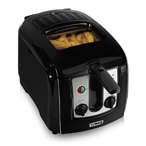 Tower Deep Fat Fryer 3Ltr Black