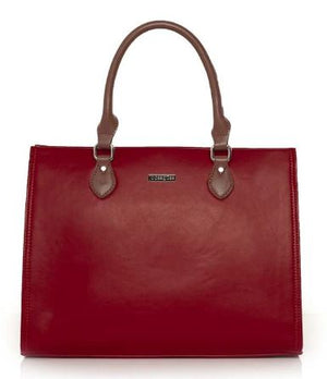 JOCEE&GEE LADIES CALLISTA HANDBAG - RED