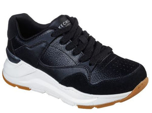 SKECHER WOMENS ROVINA COOL TO THE CORE TRAINER - BLACK