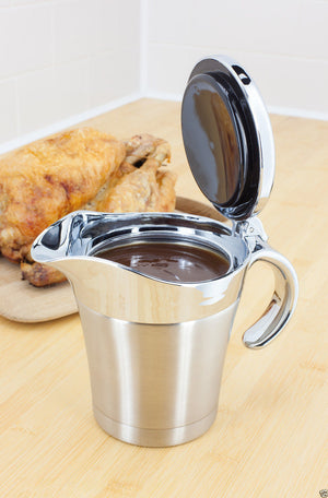 Judge Thermal Insulated Double Wall Gravy Sauce Boat Pot Serving Jug 450ml TC299