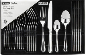 Judge Dubarry CB50 Gift Box Set Stainless Steel 24 Piece