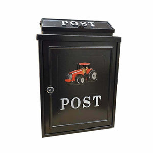Wall Mounted Postbox (Red Tractor)