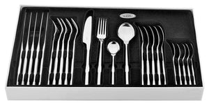 Stellar Rochester Cutlery 24 Piece Set Polished Stainless Steel