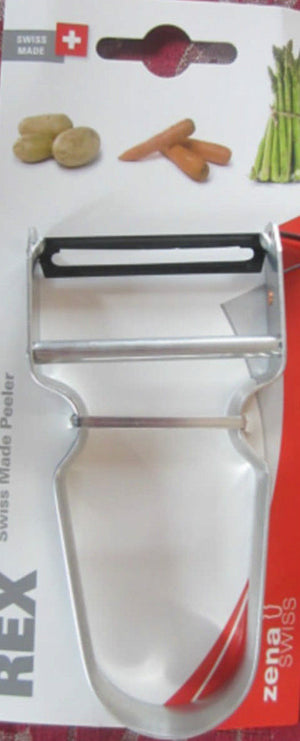 REX Potato Peeler Swiss Steel Handle Made in Swiss Guaranteed Quality