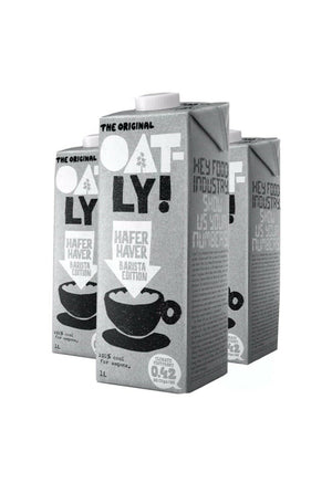 Oatly Oat Drink Barista Edition 1 Litre Pack of 6