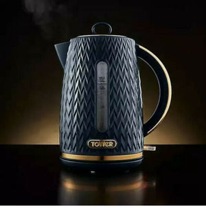 Tower Empire Midnight Blue 1.7L Kettle (T10052MNB) 1.7 Litre capacity