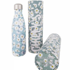 Chilly's Bottle 500 ml Floral Daisy Water Bottle