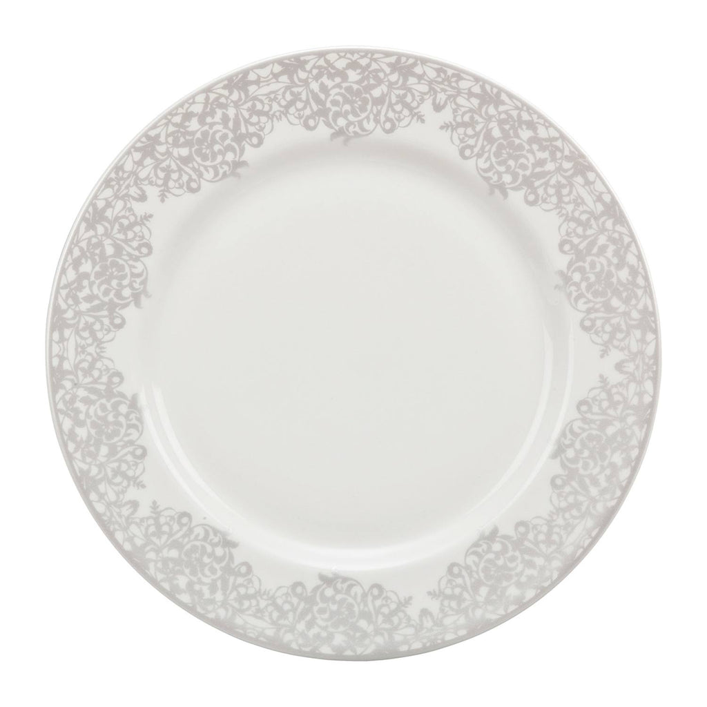 Monsoon Filigree Silver Medium Plate - Jacksons of Saintfield