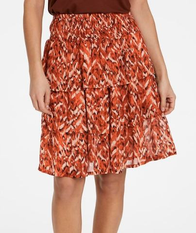 PART TWO WOMENS DORRIS SKIRT - SUNBURN TEXTURE PRINT