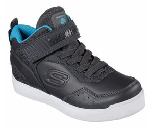 SKECHERS BOYS ENERGY LIGHTS E-PRO ll TRAINER- CHARCOAL/BLUE