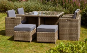 WENTWORTH 8 SEATER CUBE SET