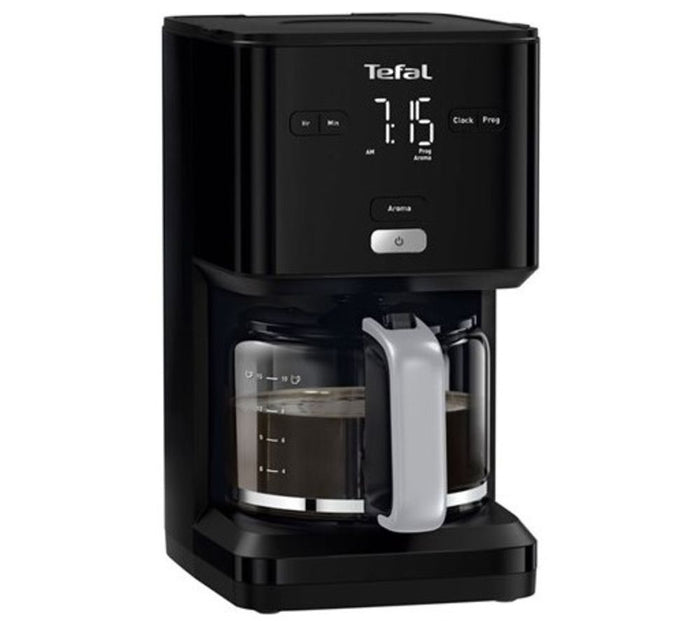 TEFAL Smart N Light Filter Coffee Machine Black CM600840