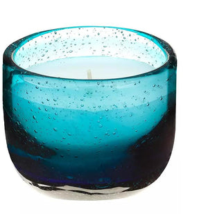 Voyage candle French Riviera teal