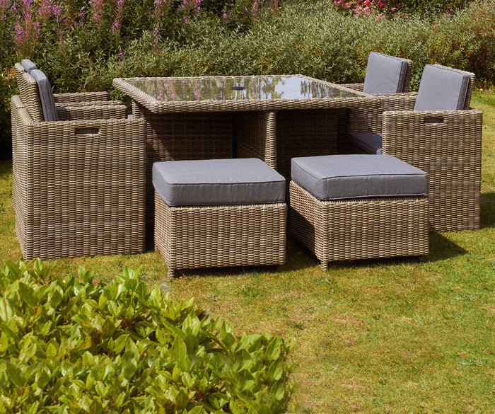Royalcraft WENTWORTH 8 SEATER CUBE SET