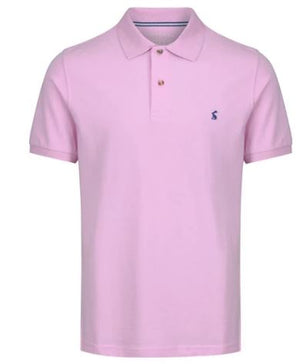 JOULES MENS WOODY POLO SHIRT - PINK