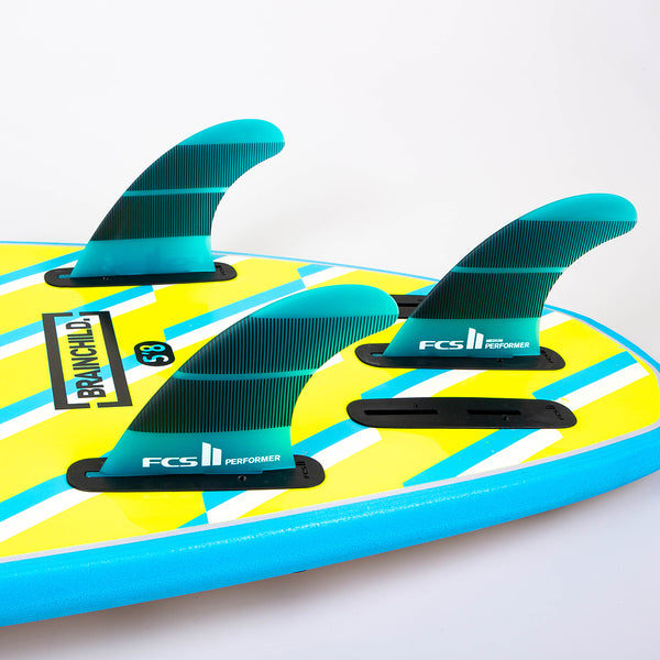 FCS II Performer Neo Glass Tri Quad Fins