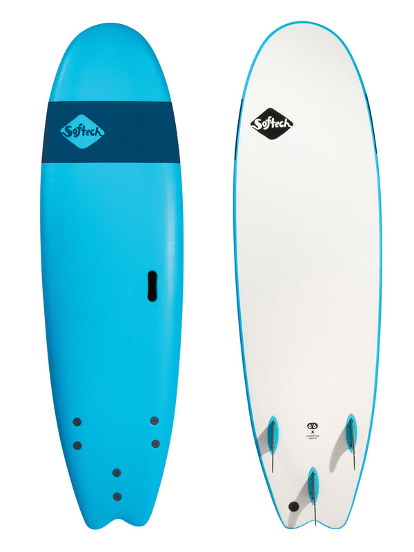 Softech Handshaped Surfboard Fish