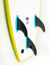 Softech Handshaped Surfboard Tail