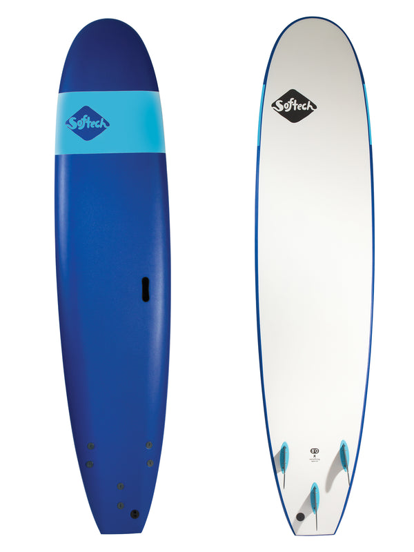 Softech Handshaped Surfboard Blue
