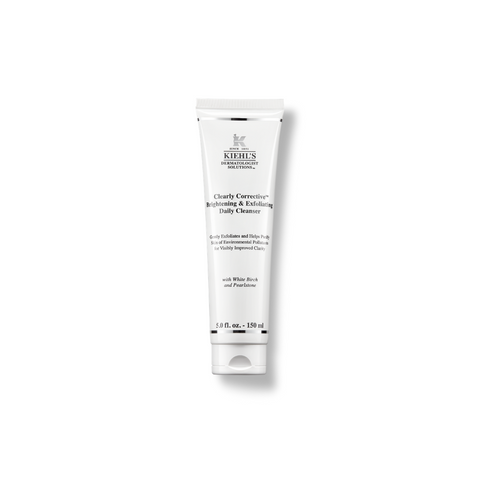 buy kiehl's clearly corrective skin brightening and exfoliating gel cleanser