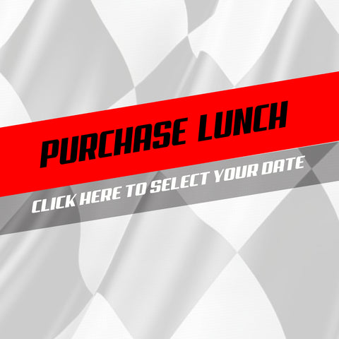 Purchase Track Day Lunch