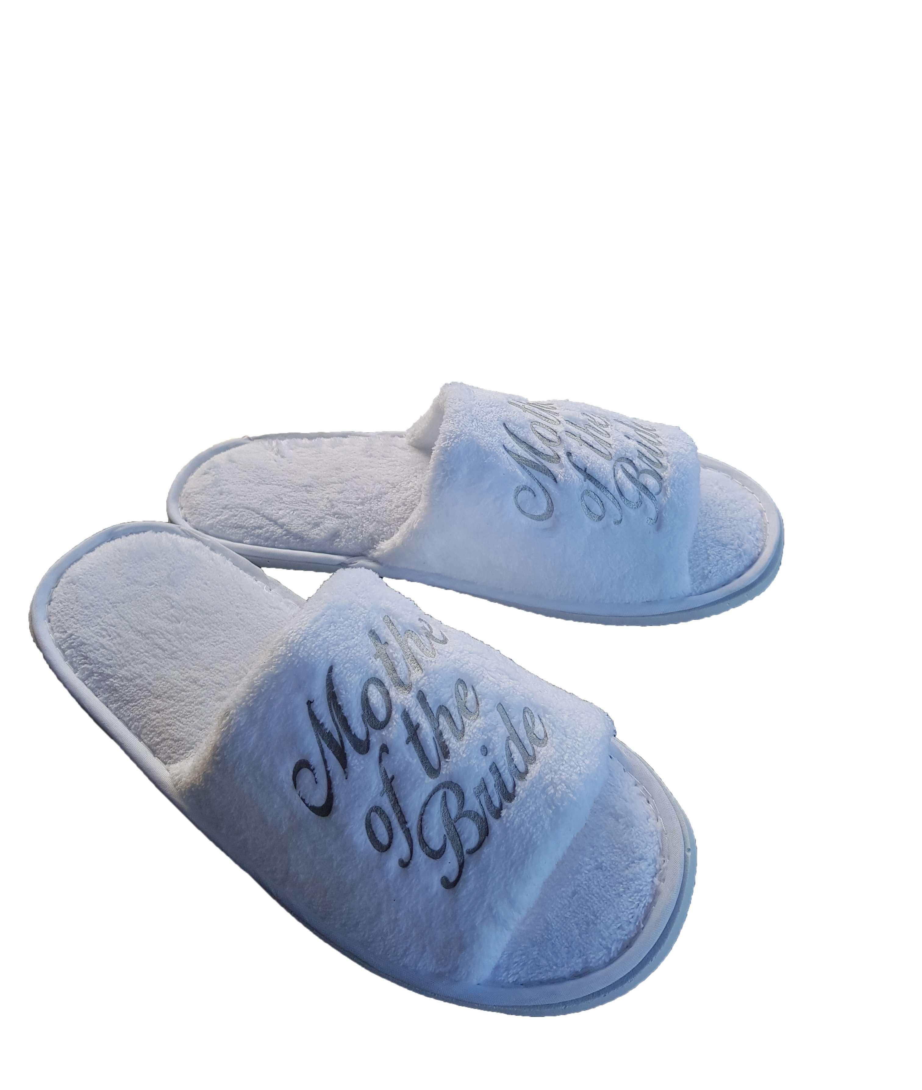 034f5e5e5 At Get Spliced we provide high quality robes and slippers for bride