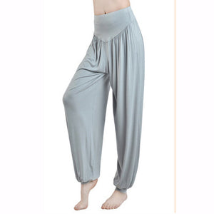 High Waist Loose Leggings - Angelhealth